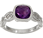 DeLatori Sterling Silver Gemstone Ring - J354279