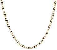 Vicenza Gold 20 Polished Marine Link Necklace 14K Gold 4.1g - J374779