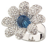 Nolan Millers Colossal Flower Cocktail Ring - J8279