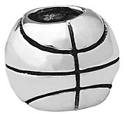 Prerogatives Sterling Basketball Bead - J110180