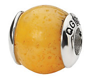 Prerogatives Sterling Coral Orange Gemstone Bead - J298280
