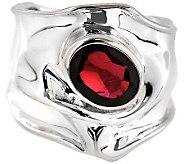 Hagit Gorali Sterling Garnet Ring - J309880
