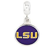 Sterling Silver Louisiana State University Dangle Bead - J314980