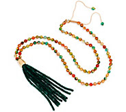 Lola Rose Bohemian Express Tassel Necklace - J348580