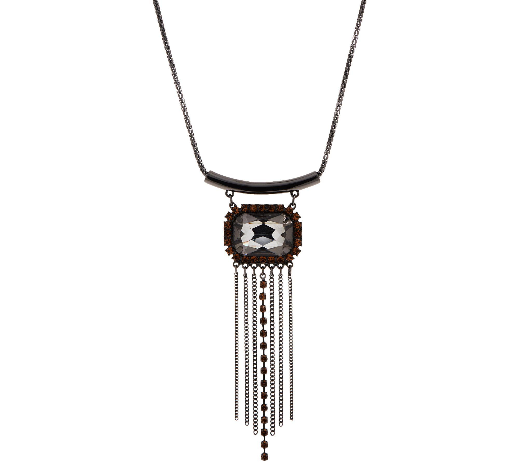 LOGO Links by Lori Goldstein Chandelier Pendant Necklace - J352180