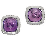 DeLatori Sterling Silver Gemstone Earrings - J354280