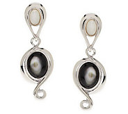 Carolyn Pollack Pebble Beach Sterling Earrings - J266781