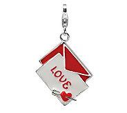 Amore La Vita Sterling Dimensional Love LetterCharm - J299681