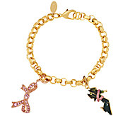 Kenneth Jay Lane Supporting the Cause Charm Bracelet - J317481