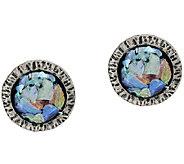 Or Paz Sterling Silver Roman Glass Stud Earrings - J318281