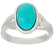 Mexican Turquoise Sterling Silver Ring - J325081