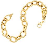 14K Gold 8 Polished Rolo Link Bracelet, 7.6g - J335081