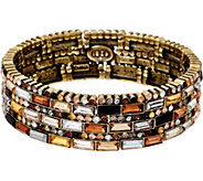 LOGO Links by Lori Goldstein Prismatic Stretch Bracelet - J348981
