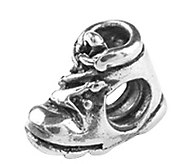 Prerogatives Sterling Baby Shoe Bead - J108982