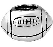 Prerogatives Sterling Football Bead - J110182