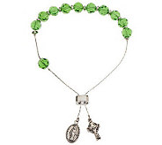 Killarney Crystal Bracelet Rosary - J260982