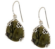 Sterling Silver Connemara Marble Reversible Earrings - J273982
