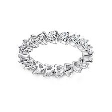 Epiphany Diamonique 1.80 ct tw Eternity Band Ring