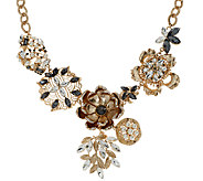 Susan Graver Floral Statement Necklace - J326982