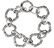 Peter Thomas Roth Sterling Signature Classic Circle Bracelet - J328982
