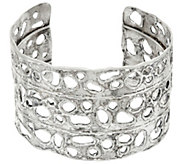 Sterling Silver Open Work Bold Cuff by Or Paz - J329382