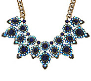 As Is Joan Rivers Crystal Royalty Statement Necklace - J329882