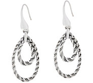 JAI Sterling Drop Earrings - J332782