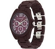 Isaac Mizrahi Live! SOHO Matte Finish Round Dial Bracelet Watch - J348082