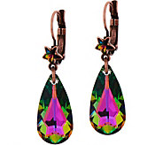 Kirks Folly Astral Mystic Crystal Leverback Earrings - J351482