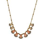 LOGO Links by Lori Goldstein Ombre Teardrop Necklace - J353782
