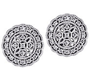 Affinity 14K 1/5 cttw Diamond Round Vintage Stud Earrings - J383682
