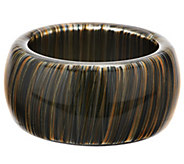 Attitudes by Renee Multi-Color Acrylic Bangle - J268983