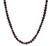 Linea by Louis DellOlio Long Faceted Bead Necklace - J273583