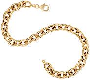 14K Gold 8 Polished Rolo Link Bracelet, 5.6g - J295583