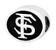 Sterling Silver Florida State University Bead - J300783