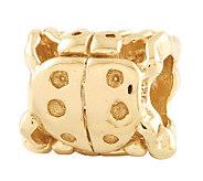 Prerogatives 14K Yellow Gold-Plated Sterling Ladybug Bead - J302783