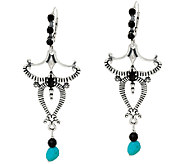 Jennifer Nettles Sterling & Turquoise Earrings - J323983