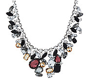 Susan Graver Jewel Statement Necklace - J326983