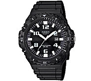 Casio Mens Black Analog Sport Watch - J338583