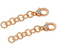 Judith Ripka Set of 2 14K Clad 2 Chain Extenders - J339983