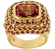 As Is Joan Rivers Private Collection Shimmering Champagne Ring - J353383