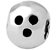 Prerogatives Sterling Bowling Ball Bead - J110184