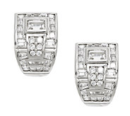 TOVA Diamonique Wedding Earrings, Sterling - J290684