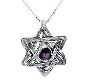 Hagit Gorali Sterling Star of David Pendant wit h Chain - J307584