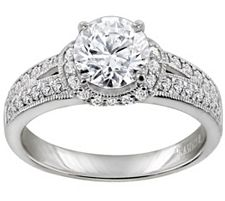 Epiphany Diamonique 2.40 ct tw Ring