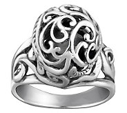 Carolyn Pollack Sterling Signature Bead Ring - J314384