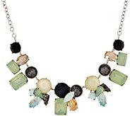 LOGO Links by Lori Goldstein Aurora Statement Necklace - J353784