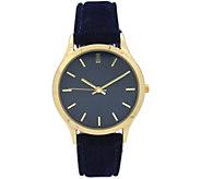 Olivia Pratt Womens Velvet Watch - J380484