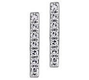 Affinity 14K Diamond Bar Stud Earrings - J383684