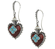 Barbara Bixby Sterling & 18K Multi-Gesmtone Heart Earrings - J292485